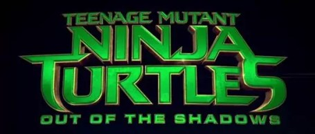 Ninja Turtles 2 Out of the Shadows logo