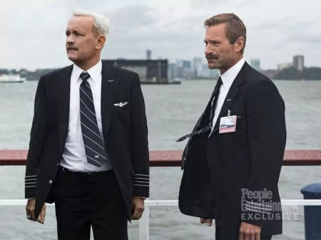 Tom Hanks en Aaron Eckhart in Clint Eastwood Sully