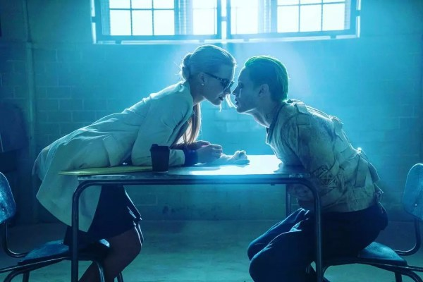 Margot Robbie als Harley Quinn & Jared Leto als The Joker in Suicide Squad