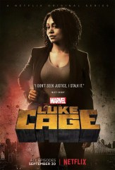 Luke Cage Netflix karakterposters - Misty Knight