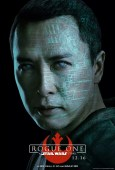 Star Wars Rogue One karakterposter met Donnie Yen als Chirrut Imwe