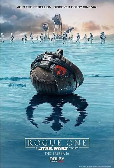 star wars rogue one dolby cinema poster
