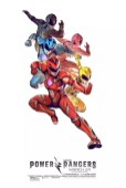 Coole Power Rangers 2017 posters met witte achtergrond 3
