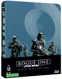 Rogue One Steelbox special edition Blu-Ray cover