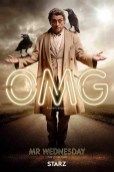 American Gods karakterposters Ian McShane als Mr Wednesday