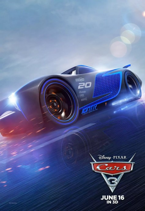 Cars 3 karakterposters William Boeva als Jackson Storm