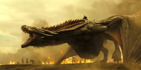 De gigantische draken in Game of Thrones S7