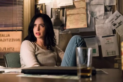 Krysten Ritter in Jessica Jones S2