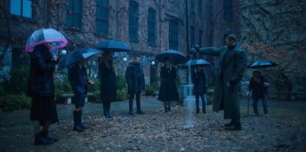 De cast van Netflix Umbrella Academy
