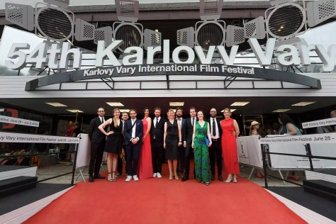 De cast en crew van De Patrick op het Karlovy Vary International Film Festival