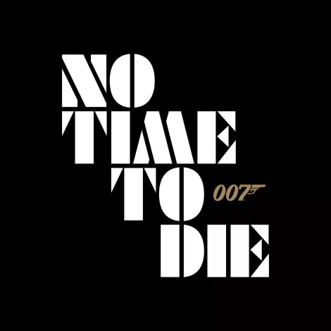 Bond 25 No Time to Die Logo