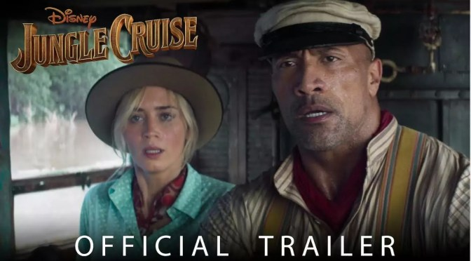 Emily Blunt & Dwayne Johnson in officiële Jungle Cruise trailer