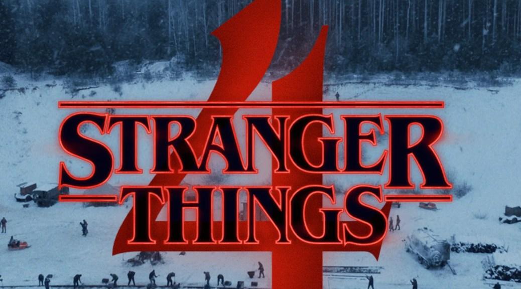 Stranger Things S4 logo