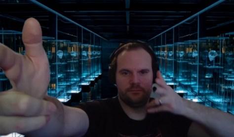 John Wick 3-achtergronden voor Zoom video conference calling