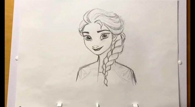 Teken je favoriete Frozen 2-figuurtjes dankzij Walt Disney Animation