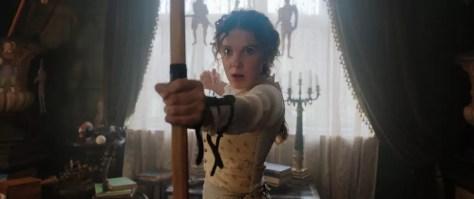Dit is Millie Bobby Brown als de dochter van Sherlock Holmes
