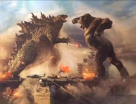 Godzilla vecht met King Kong in officiele kijk op Godzilla vs Kong