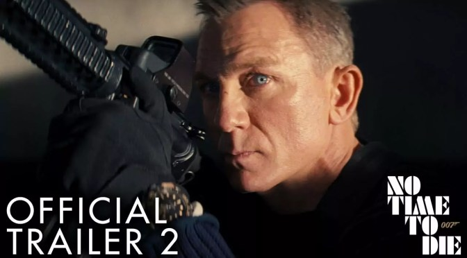 Daniel Craig in No Time to Die trailer 3