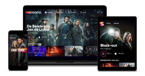 Streamz op alle apparaten van smartphone tablet laptop smart tv chromecast en Apple TV
