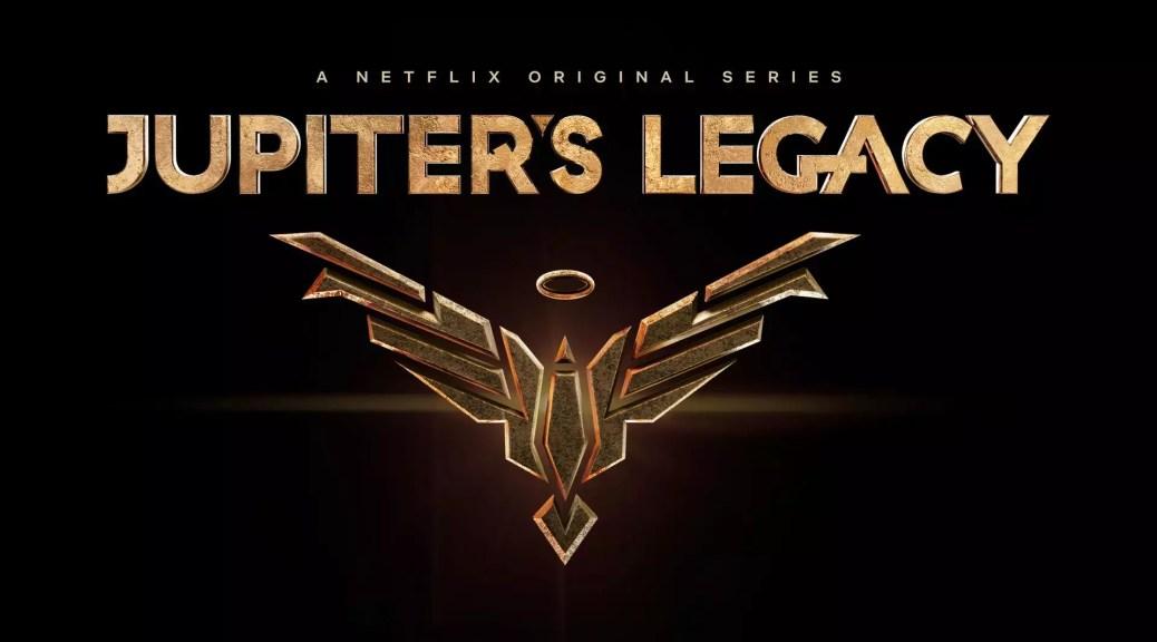 Jupiters Legacy logo op Netflix Belgie