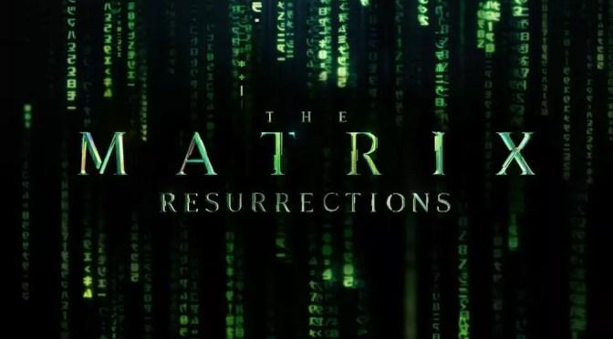 Matrix 4 Resurrections logo