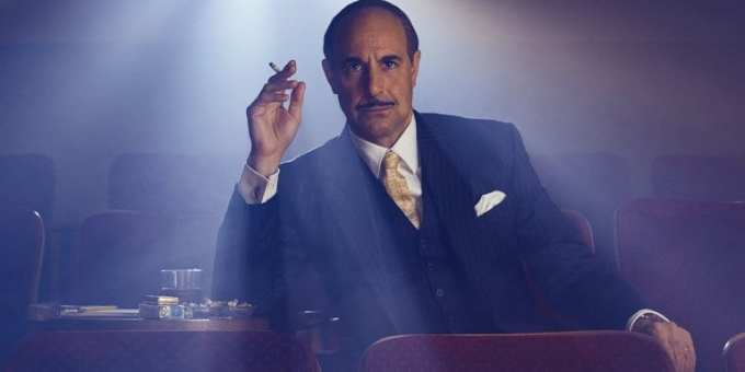 Stanley Tucci is e'rrywhere.