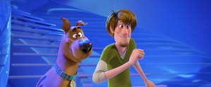 """Scoob! (2020)<center><img class=""""alignnone size-full wp-image-307"""" src=""""https://www.moviereviews.us/wp-content/uploads/2018/09/IMG_2353-3.jpg"""" alt=""""Two and Half Stars"""" width=""""107"""" height=""""21"""" /></center>"""