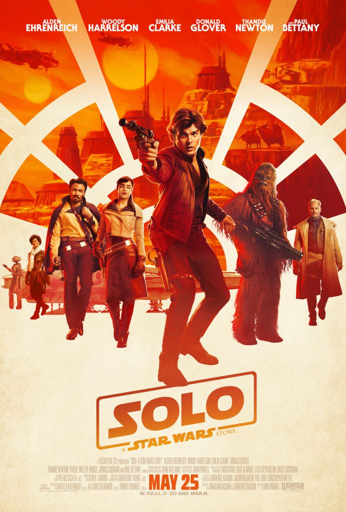 solo a star wars story official theatrical movie film poster ultra hi resolution 691x1024 Solo: A Star Wars Story