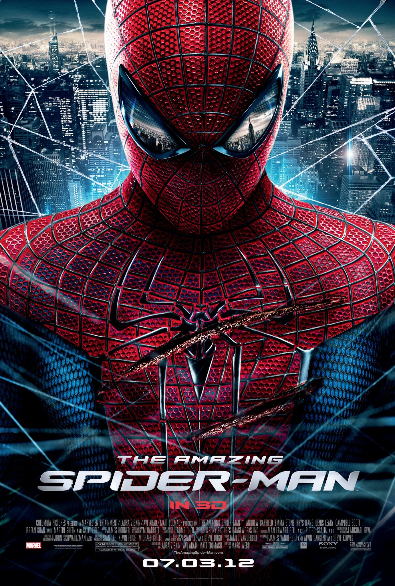 The Amazing Spider Man 2012 Review