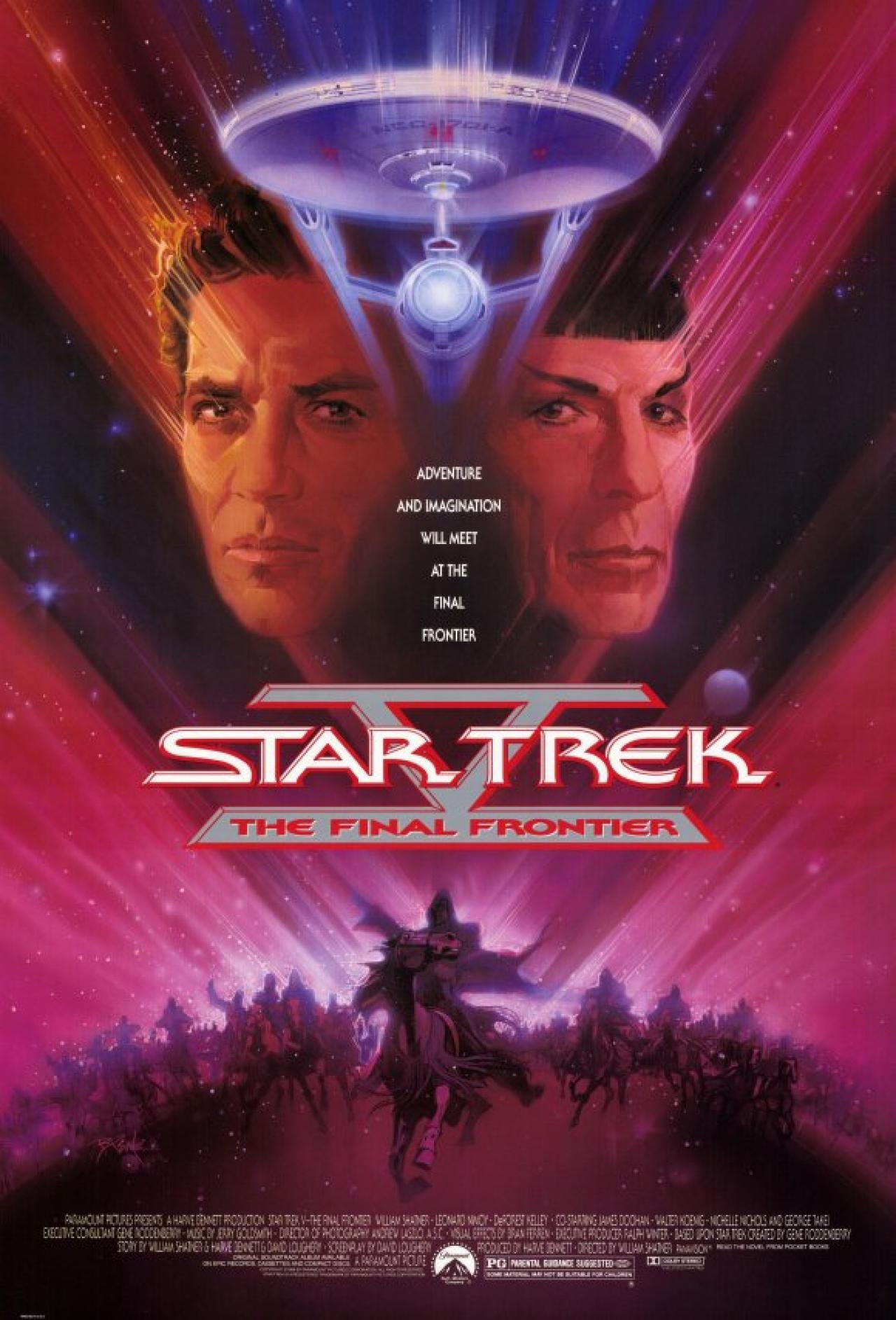 Star Trek V The Final Frontier Review