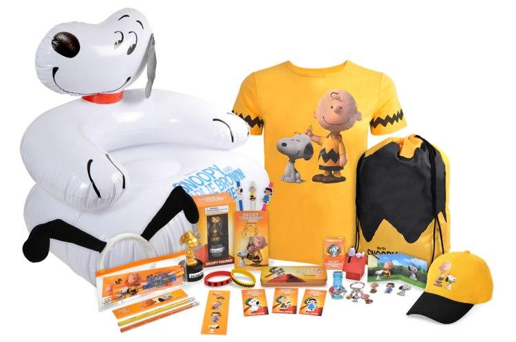 snoopy peanuts prizes