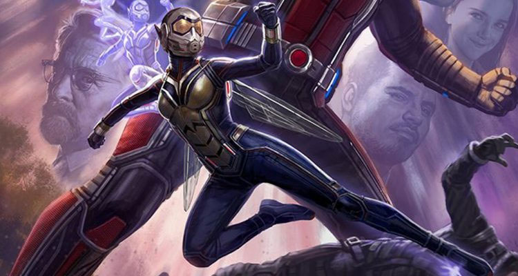 ANT MAN AND THE WASP First Look At Evangeline Lilly In