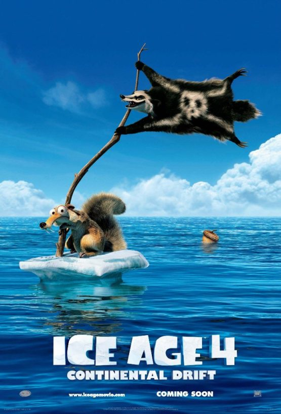 Ice Age - Continental Drift Movie Poster And Trailer 2012