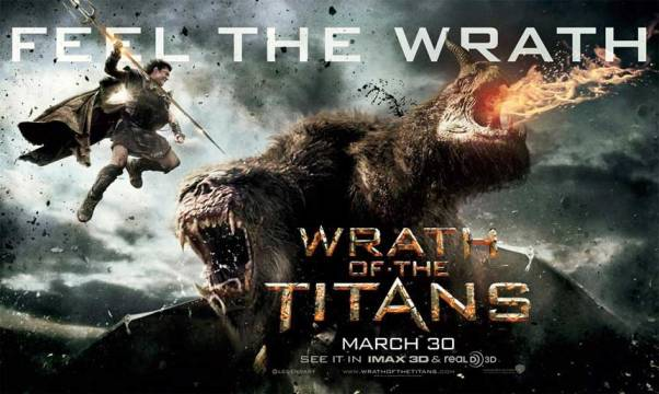 Wrath of the Titans Movie Poster And Trailer 2012