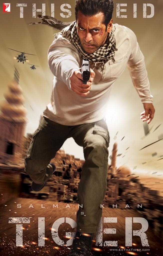 Ek Tha Tiger Movie Poster And Trailer 2012