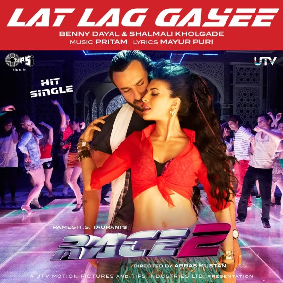 Lat Lag Gayee - Race 2 - Official Song Video