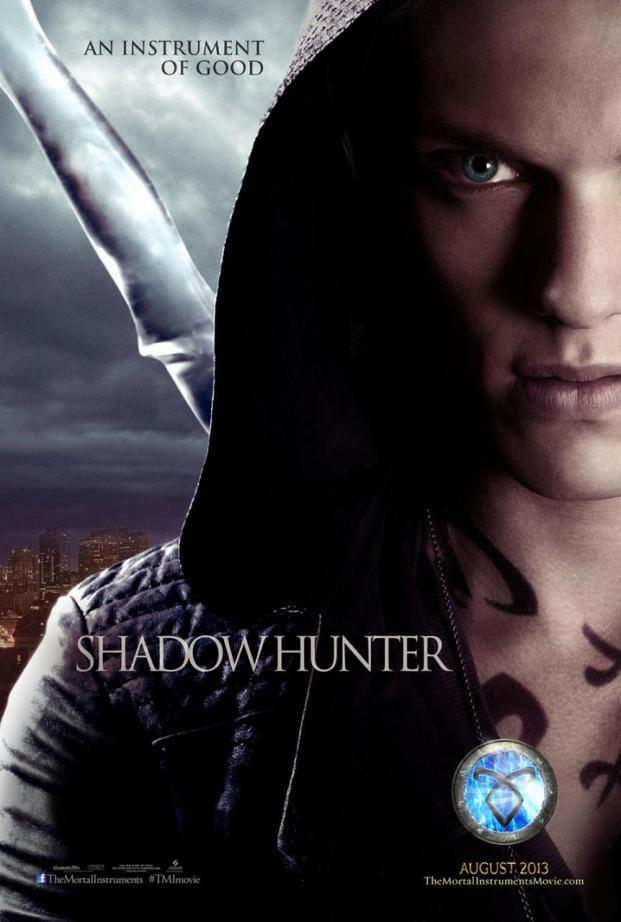 The Mortal Instruments City of Bones Character Poster - Shadowhunter