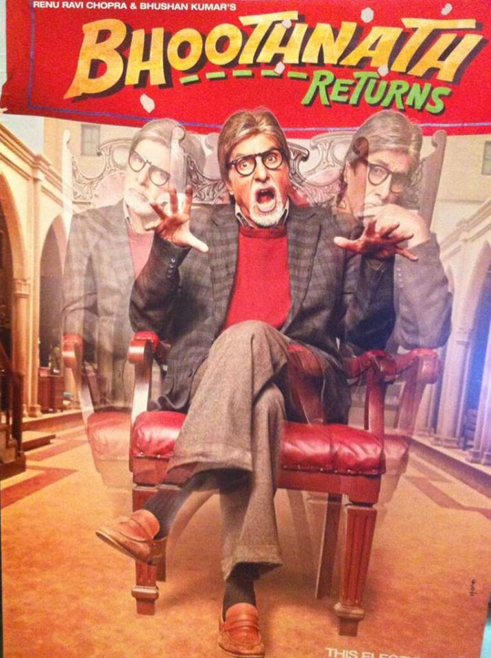 Bhoothnath Returns Poster 2