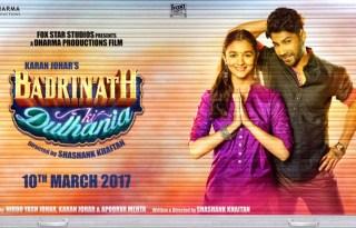 Badrinath Ki Dulhania Poster 2- India Release