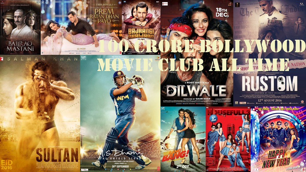 List of 100 Crore Bollywood Movies Club All Time India