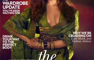 Deepika Padukone on Vogue India Magazine Cover November 2016 Pic 1