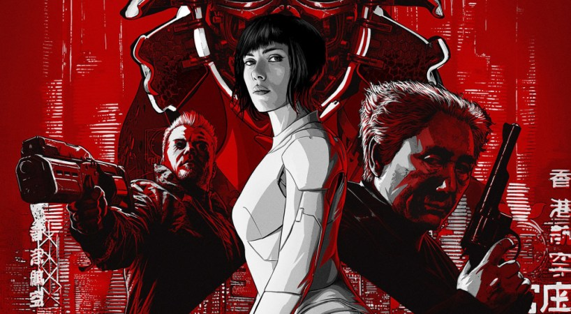 Ghost in the Shell Movie Poster 2 - India Release 2017