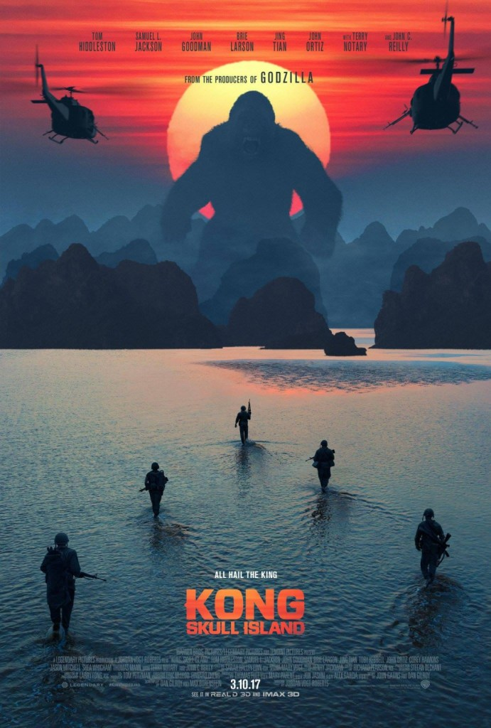 Kong - Skull Island Poster 2- India Release