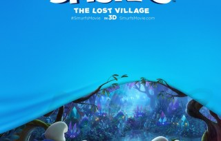 Smurfs- The Lost Village Poster 1- India Release