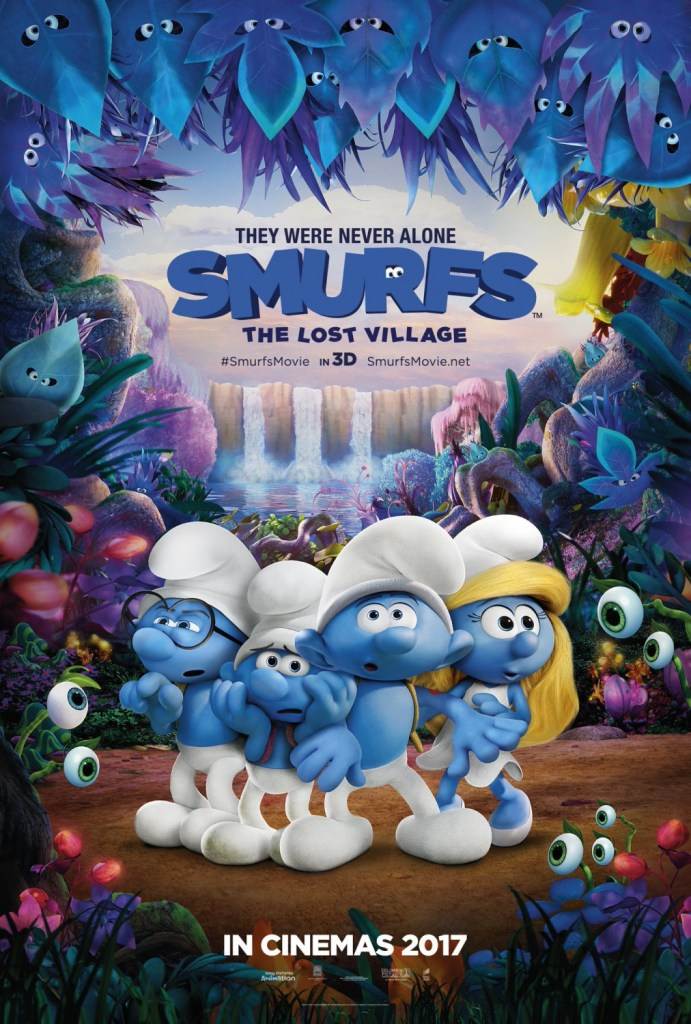 Smurfs- The Lost Village Poster 2- India Release