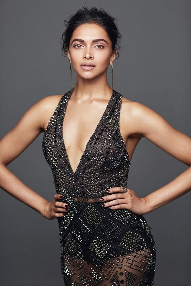Deepika Padukone Photoshoot Elle India Magazine December 2016