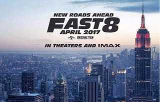 Fast 8 Poster 1- India Release 2017