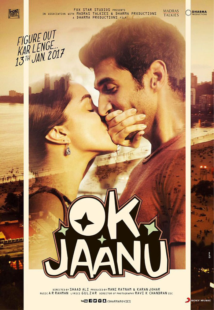 First Look Poster Ok Jaanu January 2017 India Release