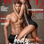 Hrithik Roshan & Lisa Haydon On The Vogue Magazine Cover January 2017