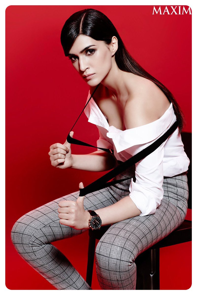 Kriti Sanon Photoshoot - Maxim Magazine December 2016 Issue